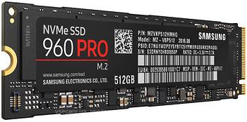 Фото Samsung 960 Pro 512 GB (MZV6P512)