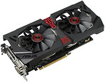 Фото Asus STRIX-R9380-DC2OC-2GD5-GAMING 1010MHz (90YV08D0-M0NA00)