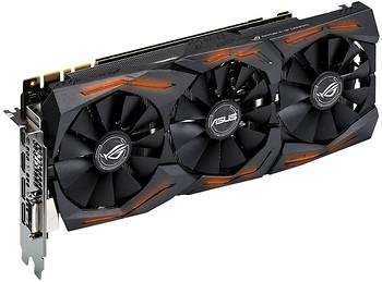 Фото Asus GeForce GTX 1060 OC ROG Strix 6GB 1645MHz (ROG STRIX-GTX1060-O6G-GAMING)