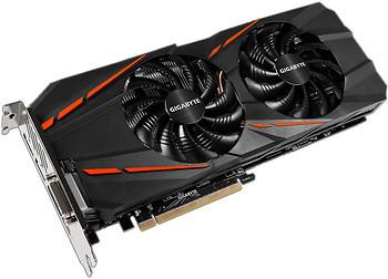 Фото Gigabyte GeForce GTX 1060 G1 Gaming 3GB 1847MHz (GV-N1060G1 GAMING-3GD)