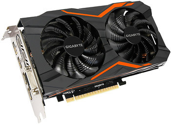 Фото Gigabyte GeForce GTX 1050 Ti G1 Gaming 4GB 1392MHz (GV-N105TG1 GAMING-4GD)