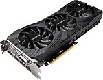 Фото Gigabyte GeForce GTX 1080 Ti Gaming OC Black 11GB 1544MHz (GV-N108TGAMINGOC BLACK-11GD)