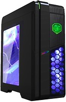 GameMax G536BK Black/Blue w/o PSU