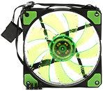 Фото Prologix 120*120*25 32 Green LED 3+4pin (PLF-SB120G4)