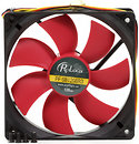 Фото Prologix 120*120*25 3pin Black/Red (PF-SB120BR3)