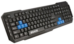 Bravis BRK736 Black USB