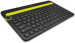 Logitech K480 Multi-Device Black Bluetooth