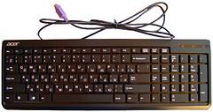 Acer SK-9611 Black PS/2