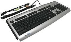 A4Tech KLS-23MUU Silver-Black USB