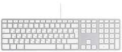 Apple MB110 Wired Keyboard White USB