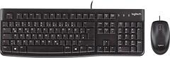 Logitech MK120 Black USB