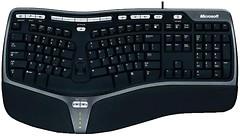 Microsoft Natural Ergonomic Keyboard 4000 Black USB