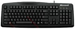 Microsoft Wired Keyboard 200MP Black USB