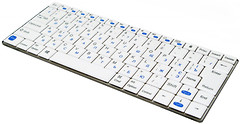 Gembird KB-P6-BT-W White Bluetooth