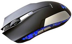 E-Blue Cobra Pro Gaming Black-Silver USB (EMS609BKAA)