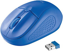 Фото Trust Primo Wireless Blue USB (20786)