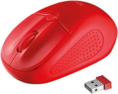 Фото Trust Primo Wireless Red USB (20787)