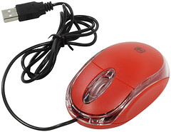 Фото Defender #1 MS-900 Red USB (52901)