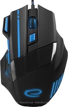 Фото Esperanza Wolf MX201 Black-Blue USB (EGM201B)