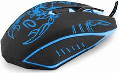 Esperanza EGM203B Scorpio Black-Blue USB