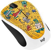 Logitech M238 Doodle Collection Go-Go Gold USB (910-005056)