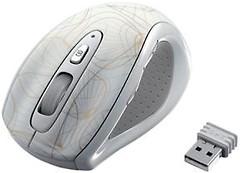 Фото iBOX Optical Wireless White-Gold USB