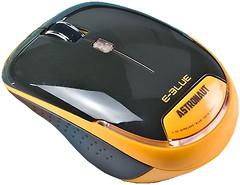 E-Blue Astronaut 2.4 Ghz Wireless Mouse EMS115OG Orange USB