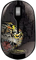 Ed Hardy Wireless Mouse Tiger Black USB