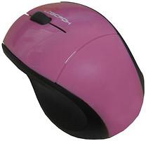 Logicfox LF-MS 038B Black-Pink USB