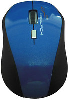 Logicfox LF-MS 040 Black-Blue USB