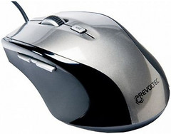 Revoltec Wired Mini Mouse W105 Silver USB