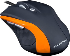 Modecom MC-M5 Black-Orange USB