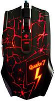 A-Jazz Quake 7 Black USB (Red LED)