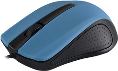 Фото Modecom MC-M9 Black-Blue USB