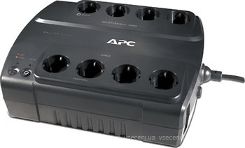 Фото APC Power Saving Back-UPS ES 8 Outlet 550VA 230V CEE 7/7 (BE550G-RS)