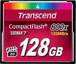 Фото Transcend CompactFlash 800x 128Gb