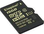 Фото Kingston microSDHC UHS-I U1 16Gb