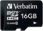 Фото Verbatim microSDHC Class 10 16Gb