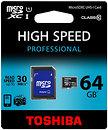 Фото Toshiba microSDXC Class 10 UHS-I 40MB/s 64Gb