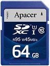 Фото Apacer SDXC UHS-I U3 45MB/s 64Gb