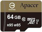 Фото Apacer microSDXC Class 10 UHS-I U3 85MB/s 64Gb