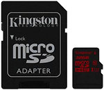 Фото Kingston microSDHC UHS-I U3 32Gb