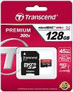 Фото Transcend microSDXC Class 10 UHS-I 300x 128Gb