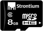 Фото Strontium microSDHC Class 6 8Gb