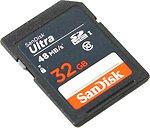 Фото SanDisk Ultra SDHC UHS-I 320x 32Gb