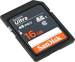 Фото SanDisk Ultra SDHC UHS-I 320x 16Gb