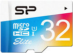 Фото Silicon Power Elite Color microSDHC Class 10 UHS-I U1 32Gb