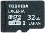 Фото Toshiba Exceria M301 microSDHC Class 10 UHS-I U1 32Gb