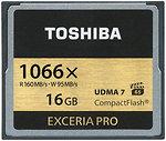 Фото Toshiba Exceria Pro CompactFlash 1066x 16Gb