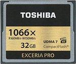 Фото Toshiba Exceria Pro CompactFlash 1066x 32Gb